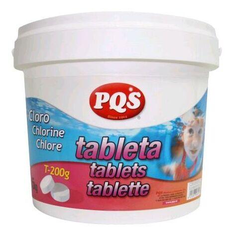 CLORO EN TABLETAS DE 200GR BOTE 5KG