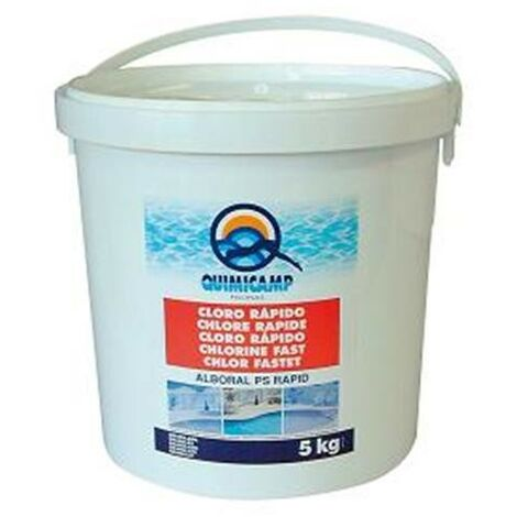Cloro granula Alboral PS Rapid Quimicamp