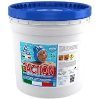 Cloro in pastiglie 200gr multifunzione antialghe manutenzione acqua piscina 5kg