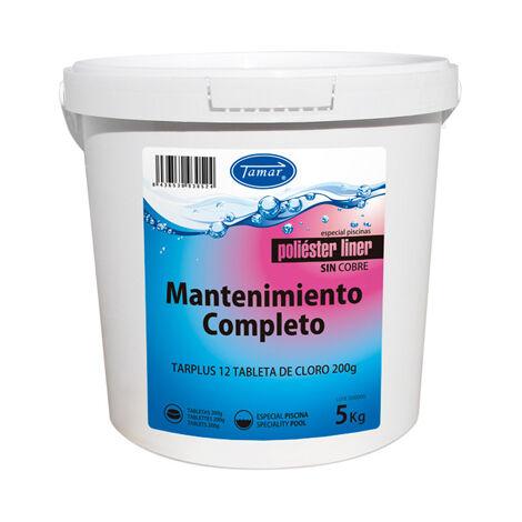 CLORO MANTENIMIENTO COMPLETO POLIESTER / LINER 5 KG - Tamar