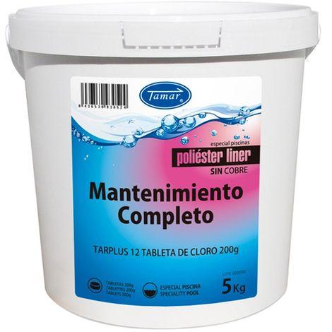 Cloro Mantenimiento Completo para Poliester / liner 5 kg