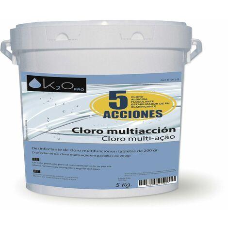 Cloro Multiacción K2O 5 Acciones 5 kg - K1012Q