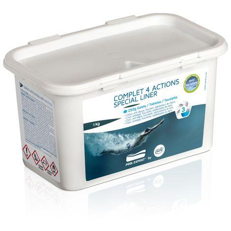 Cloro multifunción especial liner 1 kg GRE 76039 76039