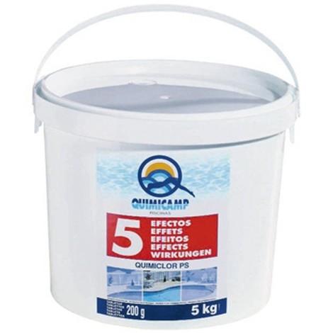 Cloro Quimiclor 5 Acciones Pastillas 200G 5 Efectos 5K