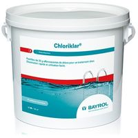 Cloro rápido pastillas efervescentes Chloriklar Bayrol 5 Kg 7531114