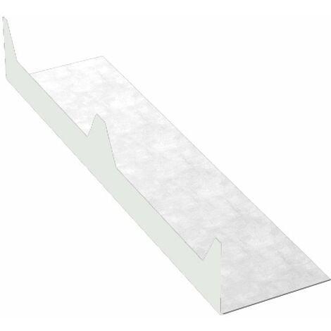 Closoir cranté 2100 mm pour panneau sandwich AXEL PLUS®