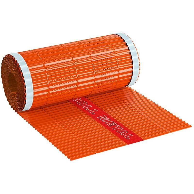 Closoir De Faîtage Ventilé En Aluminium Roll Metal 400 Mm X 5 Ml