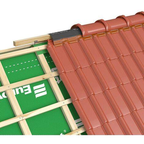 Closoirs de faîtage souples ventilés en aluminium ROLL ECCO 240mmx5Ml - (LOT DE 4)