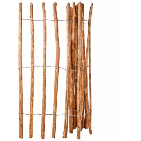 Cloture a piquets Bois de noisetier 150 x 250 cm