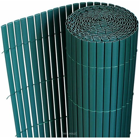 Clôture brise vue brise vent PVC 150 x 300 cm vert - Vert
