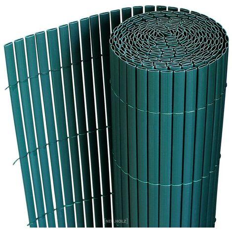 Clôture brise vue brise vent PVC 200 x 300 cm vert - Vert