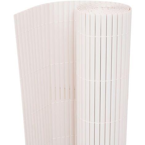 Clôture de jardin Double face 150 x 300 cm Blanc