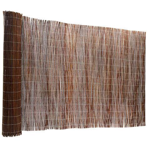 Clôture de saule | Canisse de jardin | Brise-vue couleur nature | HxL 200 x 300 cm | Certeo - Nature