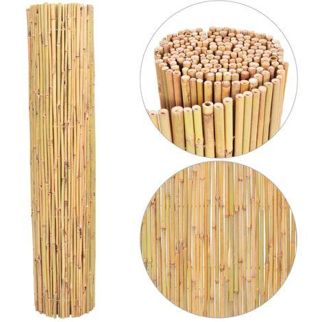 Clôture en bambou 250x170 cm