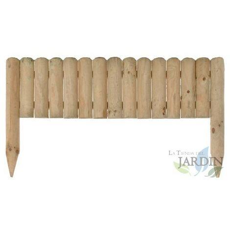 Clôture en bois Vampiro, 30 x 7 x 105 cm