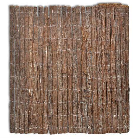 Clôture en écorce 400 x 150 cm