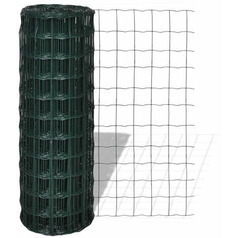 Cloture Euro 10 x 1,7 m Maille 100 x 100 mm