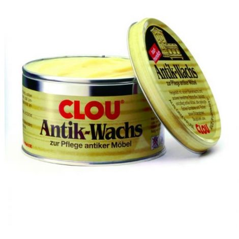 CLOU Antik Wachs fest Natur 200 ml