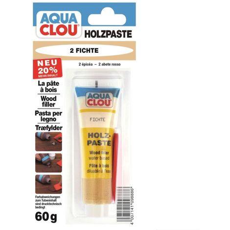 CLOU Aqua Clou Holzpaste 2 Fichte 60 g m. Spatel