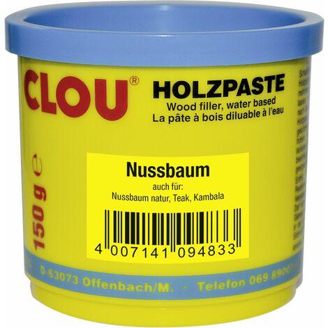 Clou Holzpaste 150 g, nussbaum