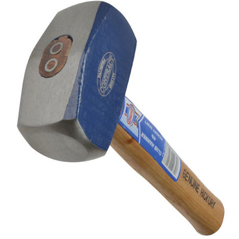 Club Hammers, Hickory Handle