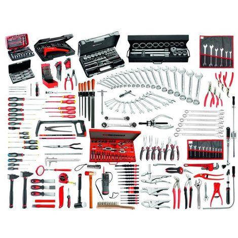 CM.150A-F Sélection maintenance industrielle de 333 outils livrés en modules mousse 1/3 (x26) 9241.94