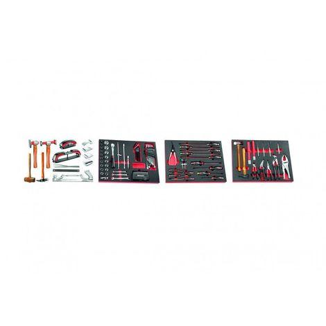 CM.CAR Sélection de 128 outils pour la carrosserie automobile 2450.46