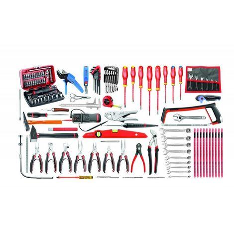 CM.E18 Sélection électronique 120 outils 1619.92