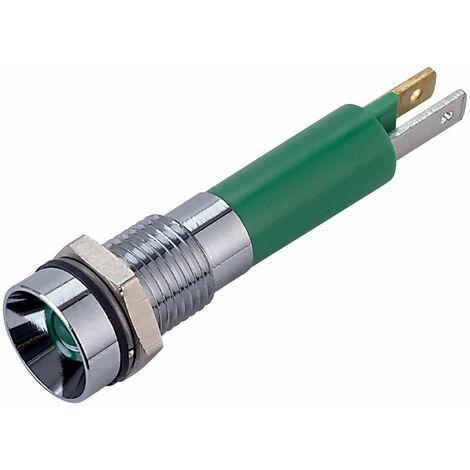 Techna LEDTECGREEN024VAC//DC LED Pilot Light Green 24V AC//DC