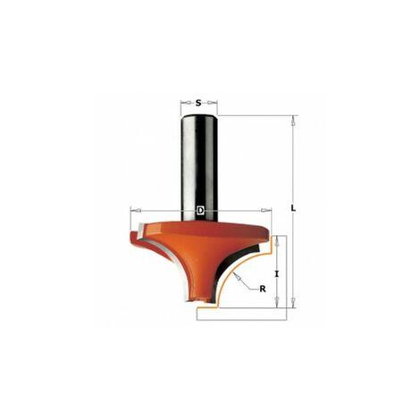 CMT : Fraise carbure 1/4 de rond 9,5 mm queue 8 mm