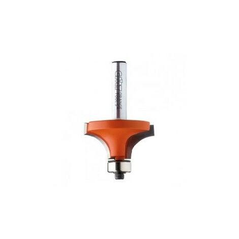 CMT : Fraise carbure 1/4 de rond - carré 16 mm guidage