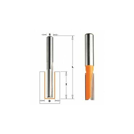 CMT : Fraise carbure droite 6 mm longue défonceuse 8 mm