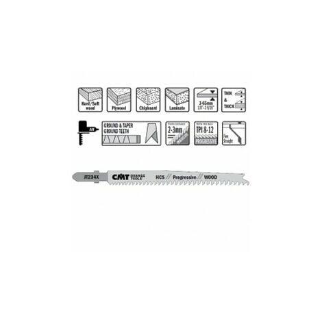 """main image of """"CMT : lame sauteuse coupe progressive longue par 5"""""""