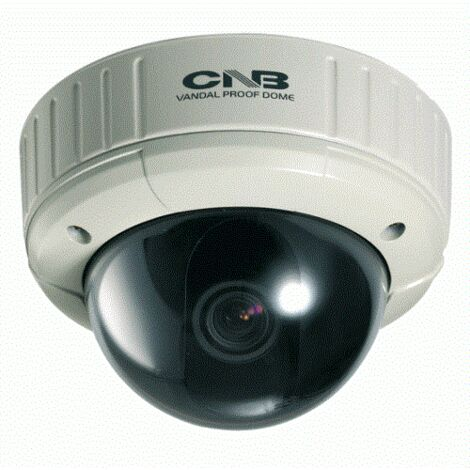 "CNB Technology VBB-35VF - 1/3"" CCD camera Dome anti-vandal Outdoor WDR - PAL"