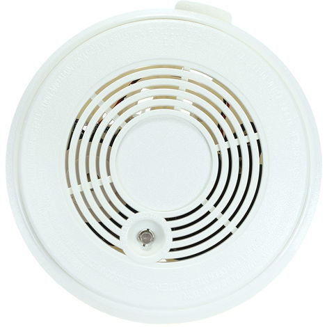 CO Gas Sensor & Smoke Detector Fire Alarm White