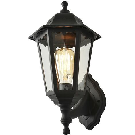 Coast Bianca Polycarbonate Up/Down 6 Panel Wall Lantern