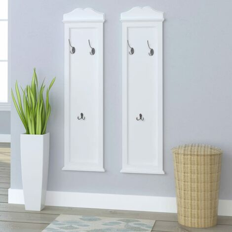 Coat Racks 2 pcs White