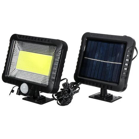 COB 100 LED 30W 600 Lumen IP65 Lámpara solar Parque exterior Patio Reflector de jardín Luz de camping Trabajo Iluminación de emergencia Reflectores