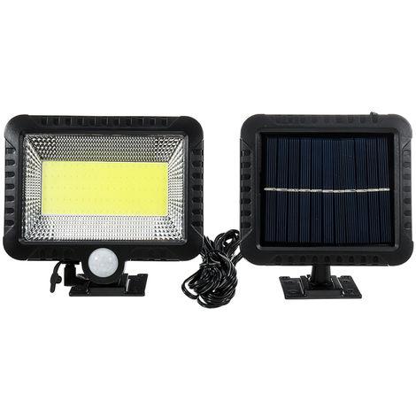 COB 100 LED 30W 600 Lumen IP65 Solar Lamp Outdoor Park Yard Garden Floodlight Camping Light Work Emergency Lighting Floodlights