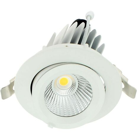 COB 20W montaje empotrado led spot light