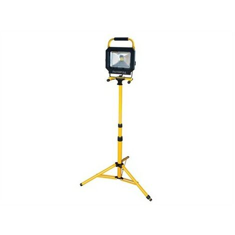 COB LED Single Pod Tripod Site Light 2100 Lumen 30 Watt