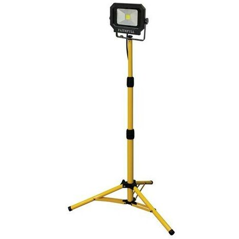 COB LED Single Tripod Site Light 1400 Lumen 20 Watt