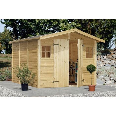 Cobertizo de madera Dan 7,0 m²
