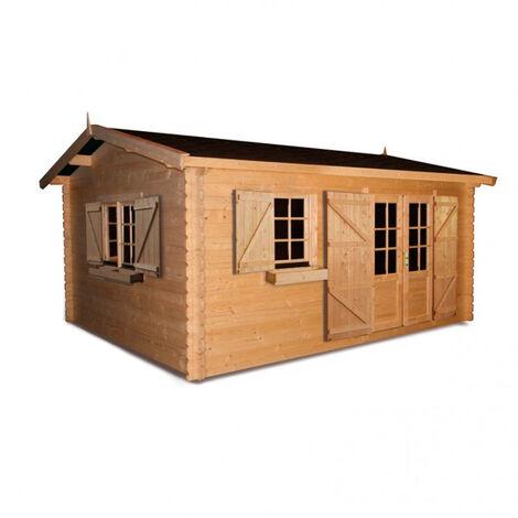 Cobertizo de madera Elista Forest Style
