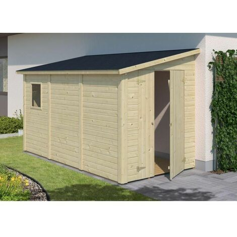 Cobertizo de madera Mia 5,4 m²