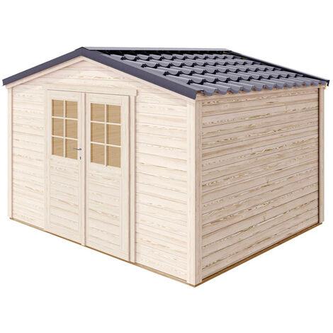 Cobertizo de madera Shelty Forest Style Medidas 394X294X256