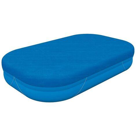 Cobertor para piscina rectangular inflable 262x175 cm.