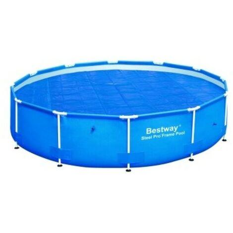 Cobertor pisc. solar bestway piscina steel pro 366 cm. 58242