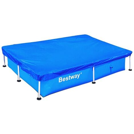 Cobertor piscina piscina rectangular 221x150cm bestway 58103