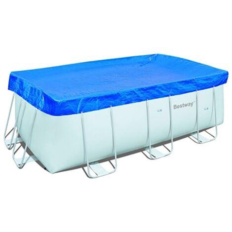 Cobertor piscina rectangular 396x185cm
